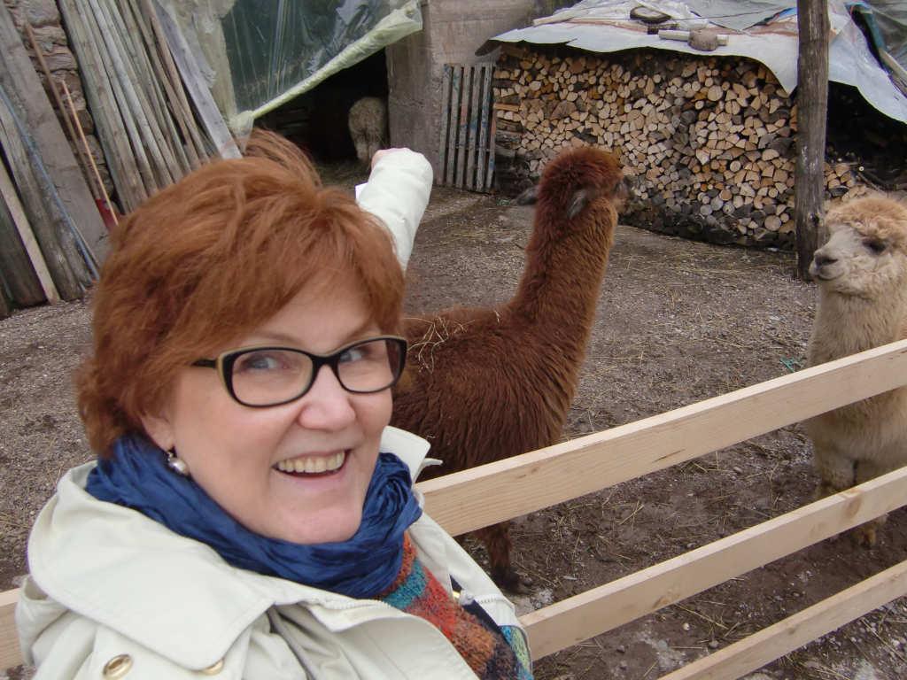 Katrin und Manolo … sie haben die gleiche rotbraune Haarfarbe. Lustig. Foto: Katrin Walter - simply walter