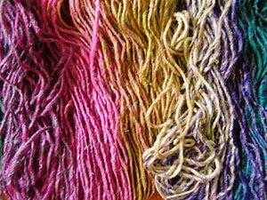 Noro Silk Garden Sock 308 aufgeräufelt