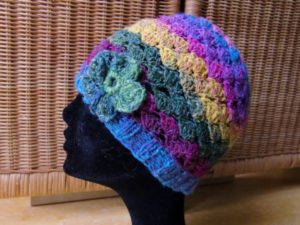 Mütze aus Noro Silk Garden Sock 87