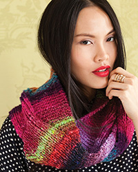 Noro Obi 7 Loop by Claudia Wersing
