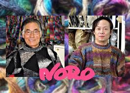 Eisaku Noro mit Sohn, Takuo Noro, im Jahr 2015