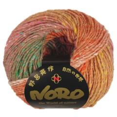 Knäuel Noro Shinryoku hat 70% Wolle 30% Seide und 180 m auf 100 g