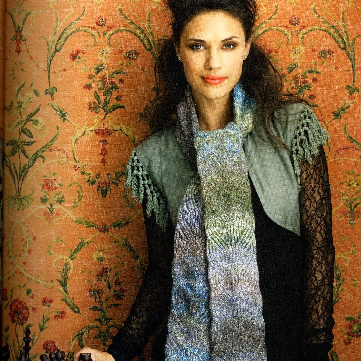 Noro Silk Garden Sock 268 Schal