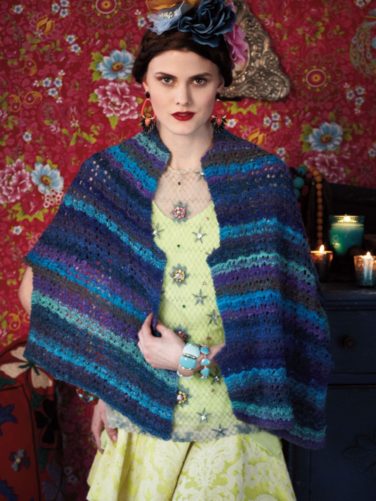 Noro Silk Garden Sock 373 Tuch / Schulterwärmer