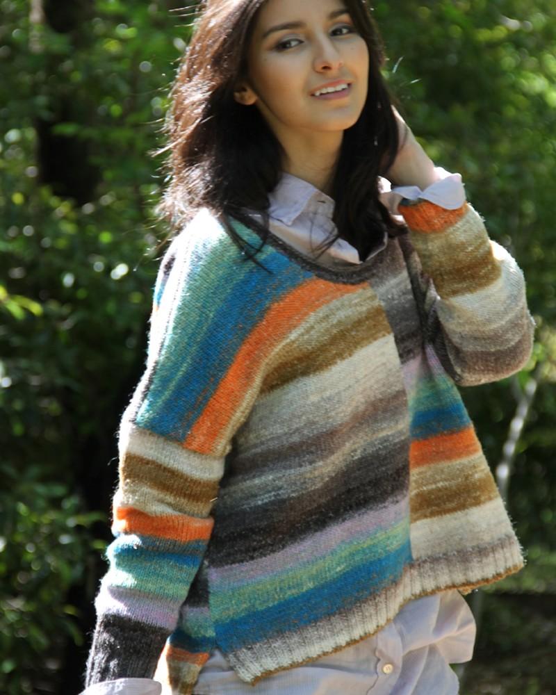 Noro Silk Garden Sock 428 Pullover