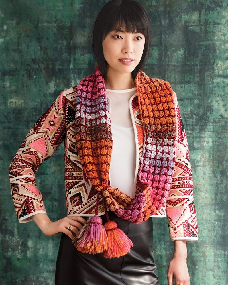 Noro Silk Garden Sock Solo 7 + Rainbow Roll 1011 Loop