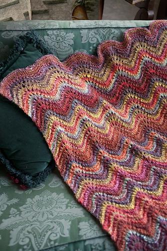 Noro Silk Garden Sock 341 + 84 Decke