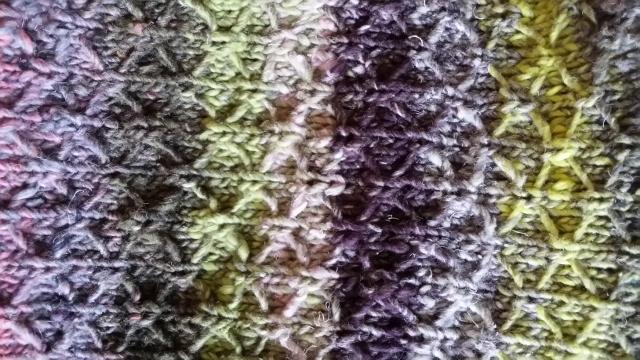 Noro Taiyo 33 Detail Muster Tasche by Katrin Walter - noromaniac