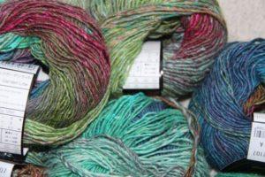 Noro Silk Garden Lite 2107 4 Wollknäuel, um die Farben besser zu sehen