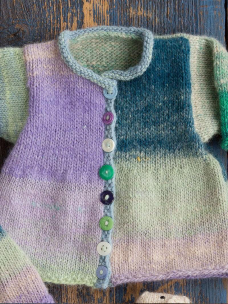 Noromaniac: Norogarn Noro Shiraito 30 Baby-Jacke