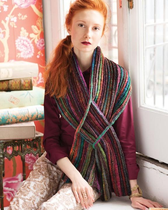 Noro Silk Garden Sock 211 Schal / Schulterwärmer