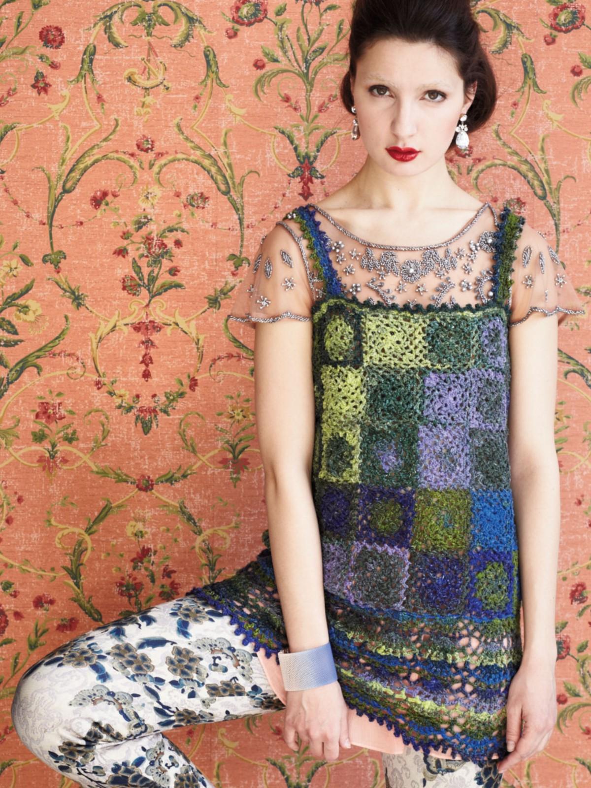 Noro Silk Garden Sock 354 Top