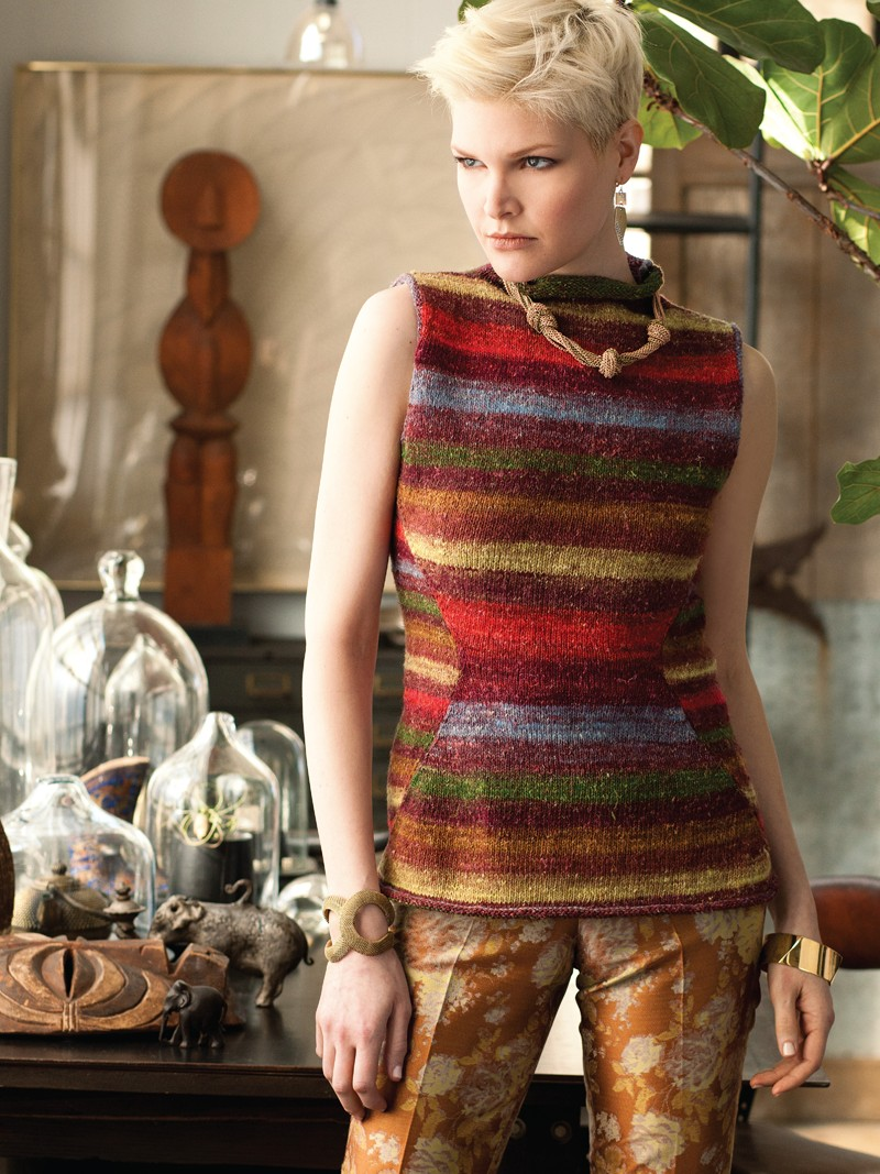 Noro Silk Garden Sock 356 Top