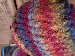 Bobbel Hat aus Noro Silk Garden 341 von Noromaniac