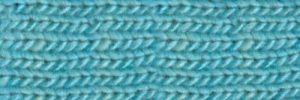 Ein helles Türkis/Acquafarben, Norogarn Farbe #22 Zircon