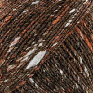 Farbe #26 Hasuda der Norowolle mit Grau, Braun und Offwhite