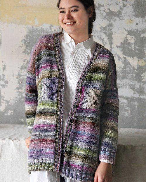 Jacke aus Noro Ito #15 vom Noro Design Team