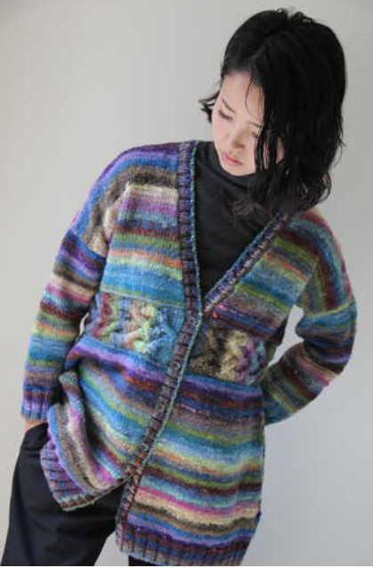 Jacke aus Noro Ito #21 vom Noro Design Team