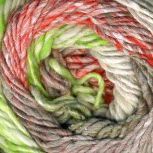 Die Farben der Noro Kagayaki 17 im Knäuel zu sehen. Noromaniac