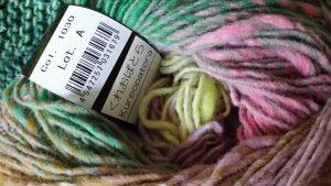 Die Wolle Noro Kureopatora 1030 im Knäuel. Foto: Katrin Walter – Noromaniac