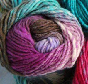 Die Farben der Wolle Noro Kureyon 349 im Knäuel. Foto: Katrin Walter - Noromaniac