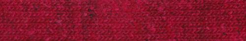 Der leuchtende kirschrote Ton der Garnfarbe #12 Jinto – Garnrezension Noromaniac