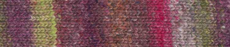 Norogarn Farbe #06 mit Pink. Foto: EisakuNoro / Knittingfever – Garn-Beschreibung Noromaniac