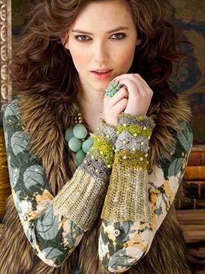 Die Inspiration für meine Handschmeichler waren diese hier von Mary Jane Hall. Noromaniac – Katrin Walter