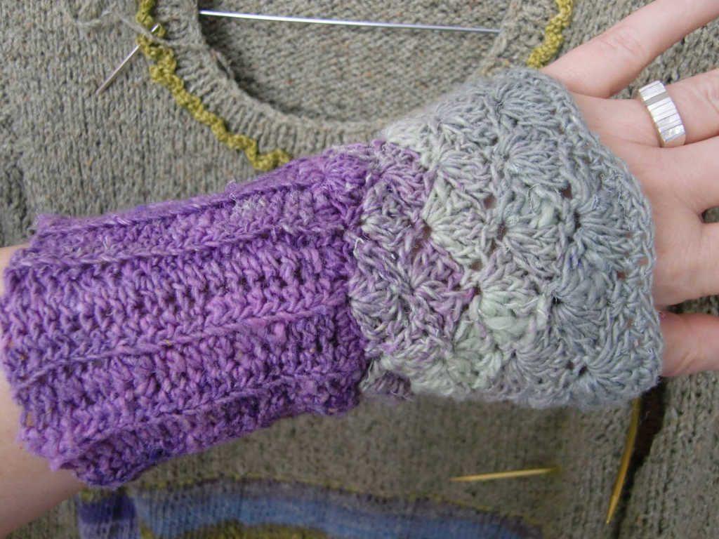 Ein Handschmeichler aus Noro Taiyo Sock 30. Foto: Katrin Walter – simplywalter.biz/Noromaniac