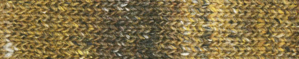 Norogarn Kiri in Farbe 02 Gold Strickprobe - Noromaniac