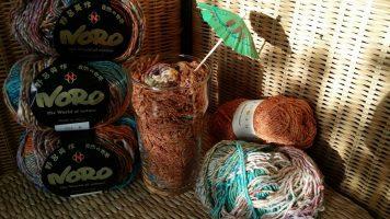 Rotwein-Eiscremesoda – Erfrischung in Sommerfarben Noro Kibou #8