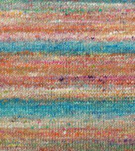 Farbrapport der Noro Kibou #8 - Schal Noromaniac (Katrin Walter)