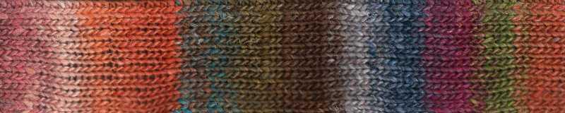 Farbe des Garns #09 Yatsushiro der Farbrapport
