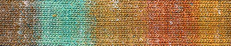 Farbe #05 Nakatsu mit Gelbtönen und Mint. Norogarn - Noromaniac