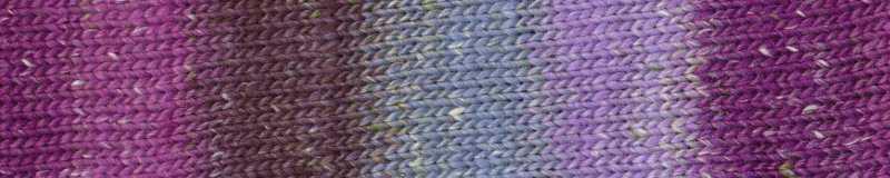 Farbe #10 Tomioka mit Lilatönen. Norogarn - Noromaniac