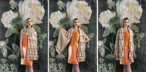 3 x the Origami Shawl Design by Margie Kieper - Interview with the desginer by Katrin Walter - Noromaniac