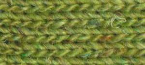 """Noro Silk Garden Sock solo #33 """"Usuki"""". Die Farbe ist ein herrlicher Limeton oder auch Pistazie."""