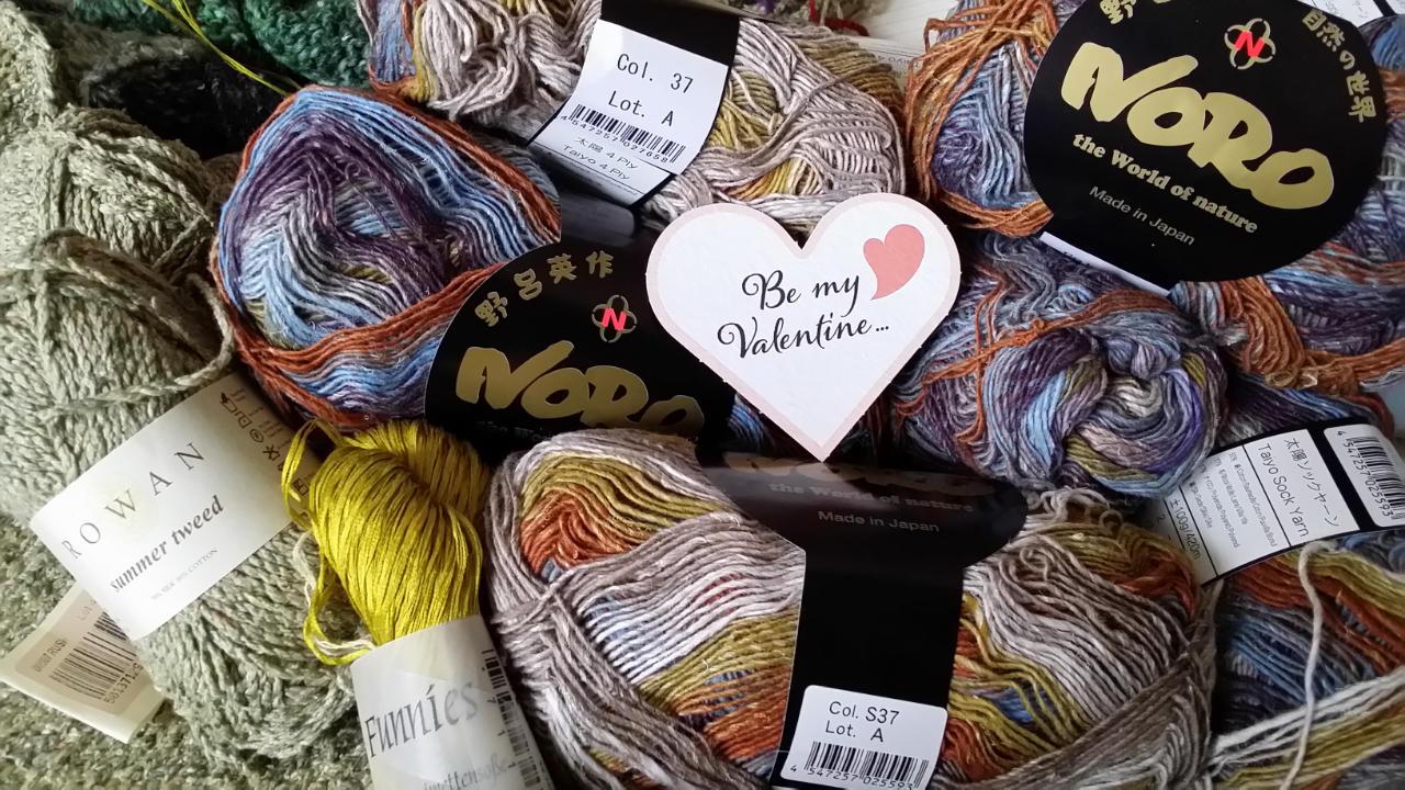 """Eine neue Idee von Noromaniac mit Noro Taiyo 4ply/sock #37, als Vorschau im Beitrag """"Valentine"""". Foto: Katrin Walter"""