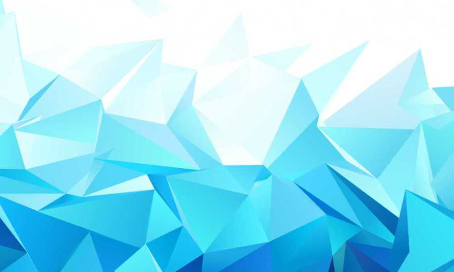 Abstract illustration of folds and creases in white and turquoise - illustration for the article by Noromaniac