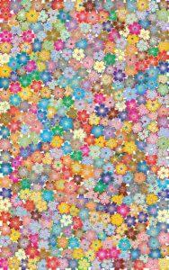 Tausend Blüten in Frühlingsfarben als Illustration für die Norogarn-Beschreibung von Noromaniac