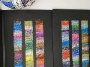 Die 6 Farbverläufe des neuen Norogarns Noro Enka in herrliche leuchtenden Farben. Foto: KFI Deutschland